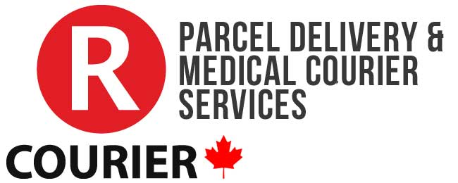 RCOURIER DELIVERY SERVICES Sticky Logo